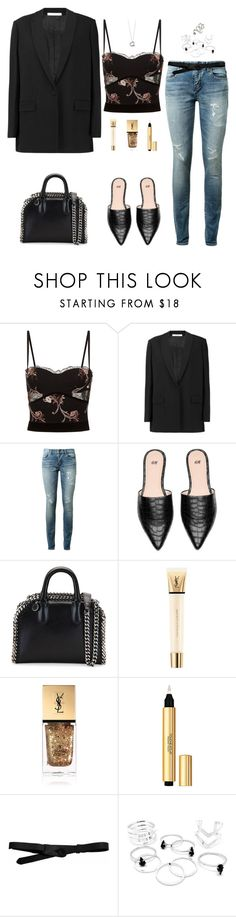 """""""Untitled #3004"""" by briarachele on Polyvore featuring La Perla, Givenchy, Yves Saint Laurent, STELLA McCARTNEY, Elsa Peretti, Lowie and ASOS"""