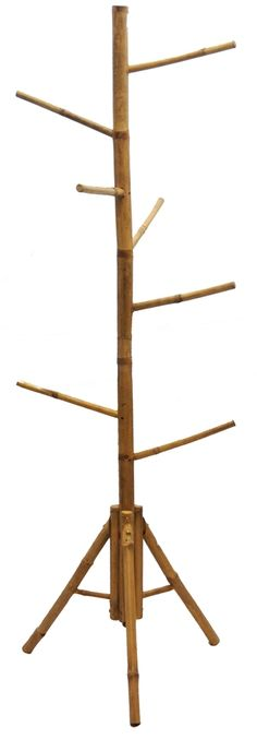 Perfect for hanging coats and scarves in the winter to hats and towels in the summer. This bamboo tree rack is perfect in any room and with its stylish design and stunning color, you won't have to worry if it matches your room because it's hard not to. Being eco-friendly never made life so easy.