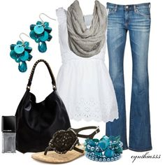 Spring Outfit, created by cynthia335 on Polyvore