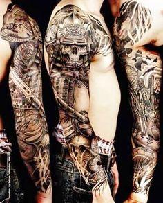 tattoo-samurai-sombreado-no-bra%C3%A7o-inteiro.jpg (322×400)