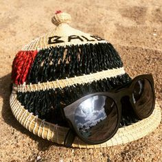 Barcelona beach combination- the Owl/Horn/Silver and one of our Lesotho Handwoven caps
