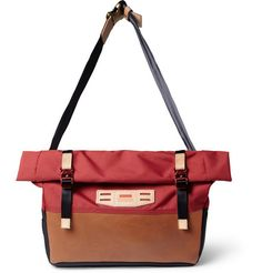 Master-Piece Hedge Leather-Trimmed Nylon Tote Bag   MR PORTER Nylon Tote  Bags cf590a88ea
