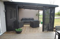 garden design - 56 recommended patio deck design ideas make your home will so interesting 36 recommended patio deck design ideas make your home will so interesting 36 Outdoor Pergola, Backyard Pergola, Outdoor Rooms, Outdoor Living, Outdoor Furniture Sets, Outdoor Decor, Rustic Pergola, Pergola Carport, Outdoor Patios