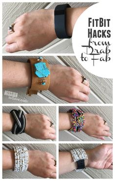 Looking for FitBit Hacks? Check out this fab FitBit Fashion Hack.  Now you can wear your activity tracker to special events and look good while making every step count.  These are less expensive than most Fitbit covers.