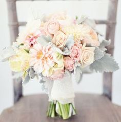 romantic vintage chic wedding flower bouquet, bridal bouquet, wedding flowers, add pic source on comment and we will update it. www.myfloweraffair.com