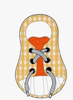 ¡ Hola Mariola! te dejo estas plantillas que he encontrado en internet.                FUENTE:http://www.pekenet.com/aprendiendo-a-atar-los...