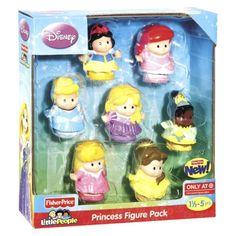 Fisher-Price Little People Disney Princess Figure - 7 pack $19.99 target