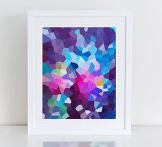 Modern Abstract Art Print Printable Instant by DecorartDesign
