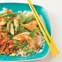 Apricot Chicken Stir-Fry