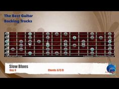 Slow Blues in G Guitar Backing Track with scale map - YouTube