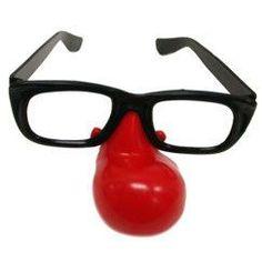 "Clown Nose 5"" Glasses - 12 Pack   Windy City Novelties"