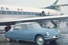 Air France Caravelle with a DS