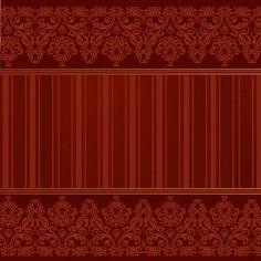 in dark red