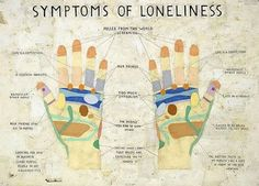 SIMON EVANS Symptoms of Loneliness, 2009 Pen, paper, scotch tape, correction fluid 28 ½ X 39 inches Simon Evans, Symptoms Of Loneliness, Palm Reading, Scotch Tape, Tumblr Image, Partying Hard, Palmistry, Wall Street Journal, Art Blog