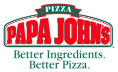 I love pizza, and I especially love Papa John's pizza. To me, what makes their pizza so much better than the other pizza chains is the sauce. Papa John's pizza sauce has a flavor that is incomparable. I always wished I could take Papa. Papa Johns Coupon Code, Papa Johns Promo Codes, Fast Food Logos, Logo Food, Pizza Hut, Pizza Company, Company Logo, Bacon Cheeseburger Pizza, Papa Johns Cheeseburger Pizza Sauce Recipe