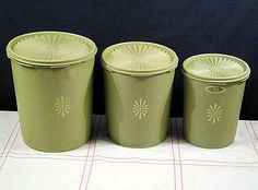 Tupperware Canister Set