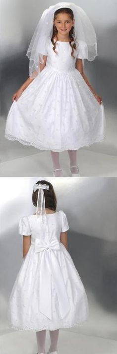 """Kiera"" Irish Communion Dress"