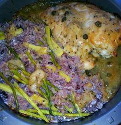 Baked chicken and rice #MrsKimchi #BillieCooks #homemade