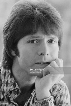 British pop singer Cliff Richard, 25th February 1975.