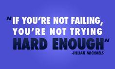 Jillian Michaels- she is motivational