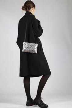 Bao Bao | small shoulder bag made of polish PVC and polyurethane plates | #baobao Baobao Bag, Bag Design, Small Shoulder Bag, Issey Miyake, Bag Making, Cauliflower, Polish, Plates, Bags
