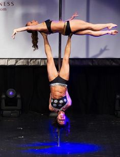Competitors participate at the World Pole Dancing Championship 2012 held at the Volkshaus on November 10, 2012 in Zurich, Switzerland. The publics perception of pole dancing has recently changed to become a popular sport combining physical strength, technique and choreography. (Photo by Harold Cunningham)