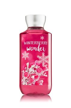 Winterberry Wonder - Shower Gel - Signature Collection - Bath & Body Works - Wash your way to softer, cleaner skin with a rich, bubbly lather bursting with fragrance. Moisturizing Aloe and Vitamin E combine with skin-loving Shea Butter in our most irresistible, beautifully fragranced formula!