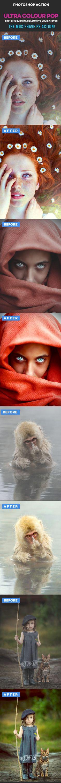 Ultra Colour Pop Photoshop Action