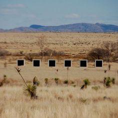 Donald Judd, Escape to the Landscape - Marfa
