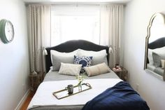 Small Bedroom Makeover: Before & After | Bedrooms, Room and Apartments