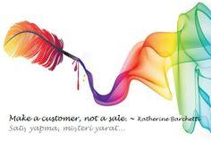 Satış yapma, müşteri yarat! - Katherine Barchetti