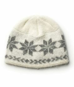 Brushed Wool Hat White - Wool Accessories - Shop Icelandic Products