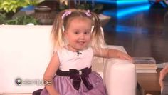 This is Brielle. She's 3 years old, and she can name every element in the periodic table.