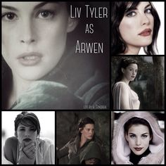 Liv Tyler as Arwen by Heather Sondreal