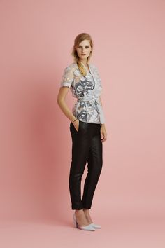 Ingrid Starnes SS15 // Kimono Top. Webster Pants