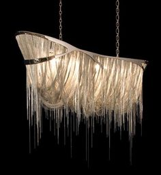 Jellyfish Tentacle Chandeliers - Hudson's 'Atlantis 1000' Gives Your Home Underwater Beauty (GALLERY)