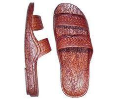 48f92714e Classic Brown Pali Hawaii Sandal CHECK! i got me a pair at a fair about