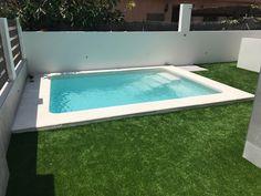 Small Swimming Pools, Small Backyard Pools, Small Pools, Modern Backyard, Swimming Pools Backyard, Pool Landscaping, Piscina Diy, Kleiner Pool Design, Small Pool Design