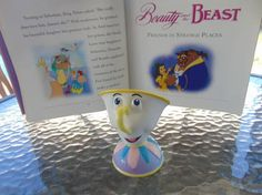 Beauty and the Beast Chip Music Box plays Be Our by OldSowellShop
