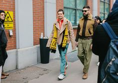 The Best Street Style From the Milan Fall 2018 Menswear Shows