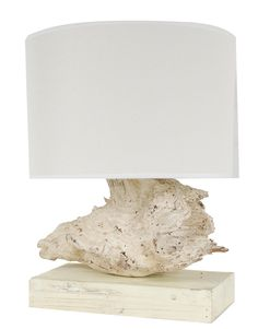Tree Root 17.7'' H Table Lamp with Drum Shade