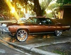 Where the hood, where the hood, where the hood at Lowrider Trucks, Donk Cars, Old School Cars, Chevy, Chevrolet, American Muscle Cars, Amazing Cars, Car Pictures, Custom Cars
