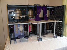 Monster High Doll house (barbie remake)