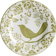 Green Bird Plate    I just keep buying this for myself and then giving it away!  I might still need to go back for one for me!!