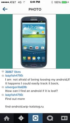 How To Find The Lost Android Phone 193640 - android. Find Android!
