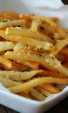Garlic Parmesan French Fries~