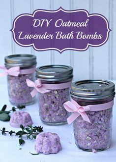 If you are fighting the dry and damaged skin winter brings, treat it with these DIY Oatmeal Lavender Bath Bombs and Jergens® Wet Skin™ Moisturizer #WetSkinMoisturizer #ad