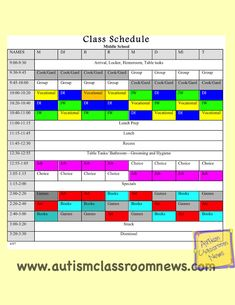 Autism Classroom News: http://www.autismclassroomnews.com    Back to School: Setting Up Classrooms for Students with Autism  Schedules Part 2