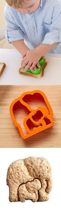 Critter Sandwich Cutter Set