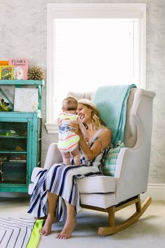 Courtney Werner's beautiful beach home will certainly make you swoon.  Full interview and home tour available on Home With Her